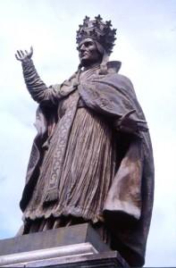 Gerbert Statue